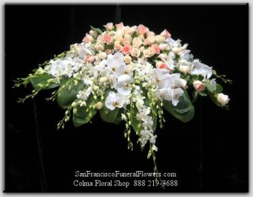 Cherished Love Casket Spray