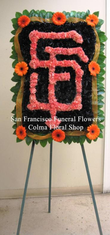 SF Giants Floral Logo Tribute