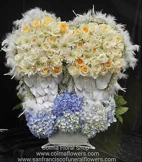 Angel Wings Basket Arrangement