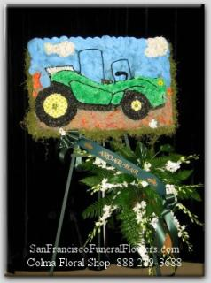 Dune Buggy Floral Tribute