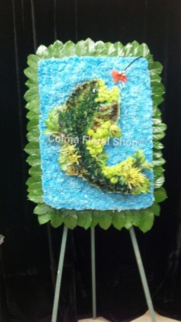 Fisherman\'s Floral Tribute